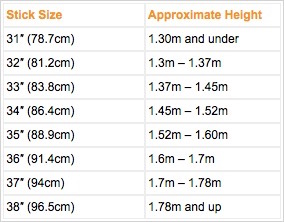 hockey-stick-sizes