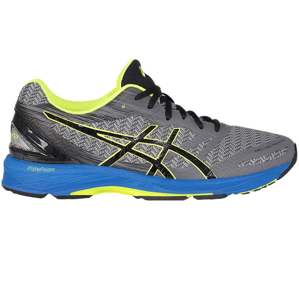 Fast Delivery ASICS GEL DS Trainer 22 Men's Mens Carbon/Black/Safety Yellow ASICS Mens Running