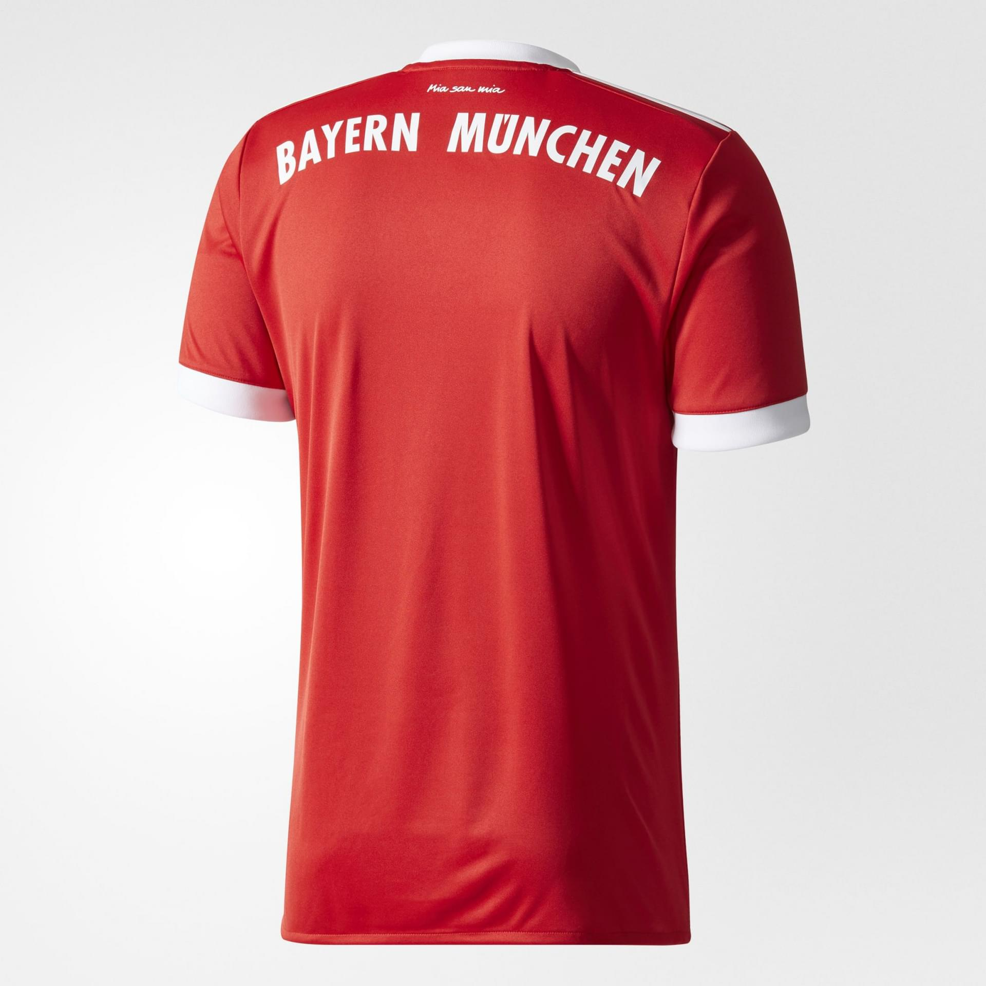 adidas fc bayern munich home replica jersey mens poobie. Black Bedroom Furniture Sets. Home Design Ideas