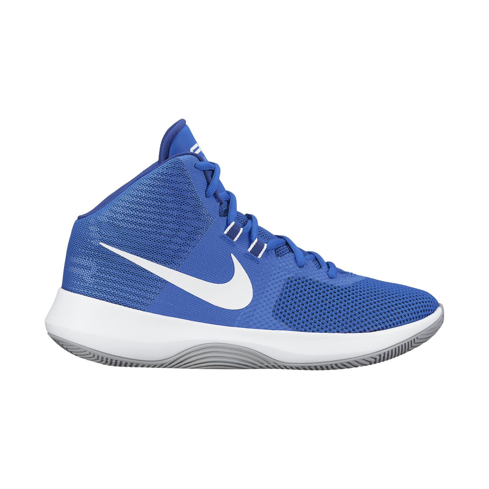 Blue And White Nike Basketball Shoes