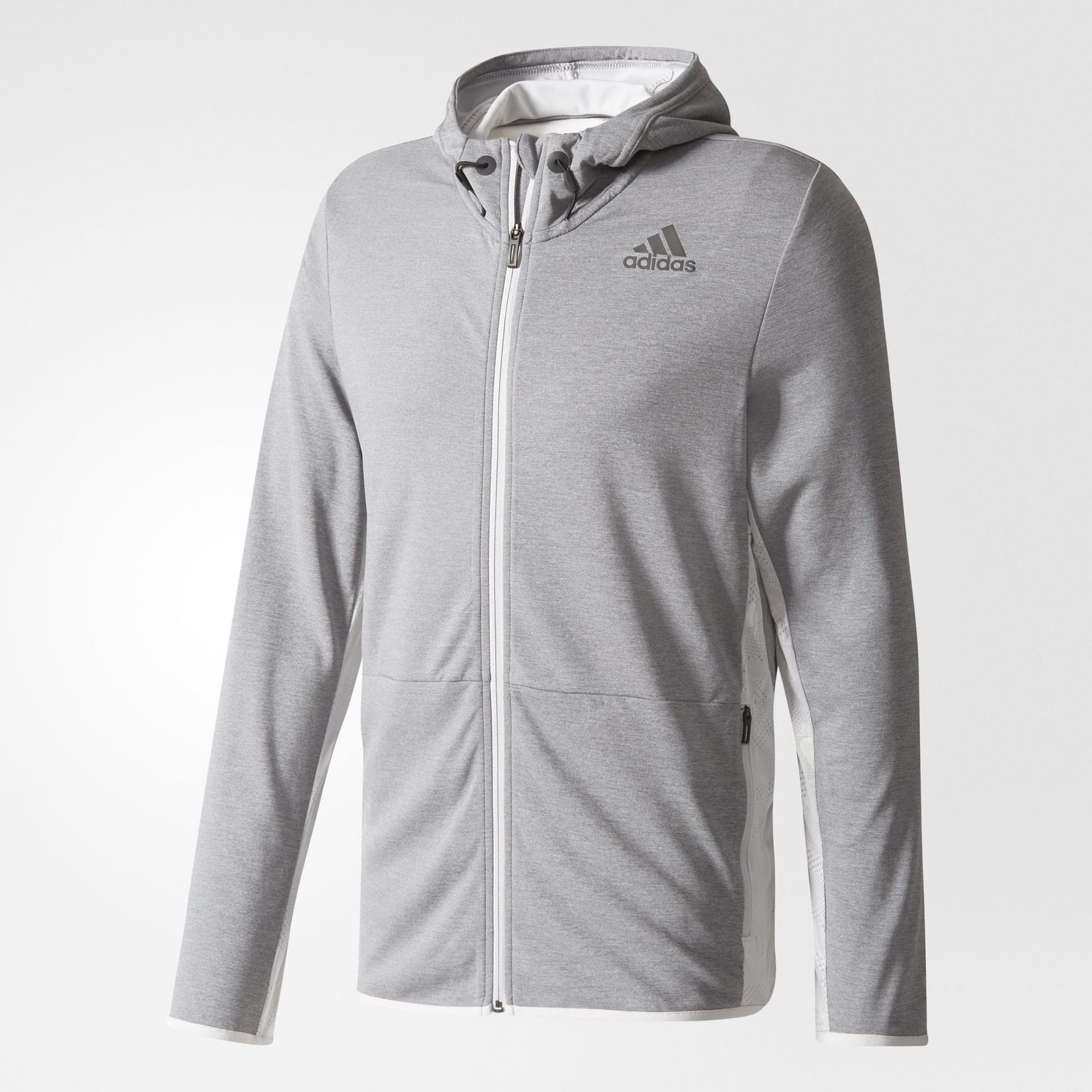 new product 81f2a b2c2d ADIDAS SWEATSHIRT CLIMACOOL WORKOUT JACKET MENS - Poobie Naidoos