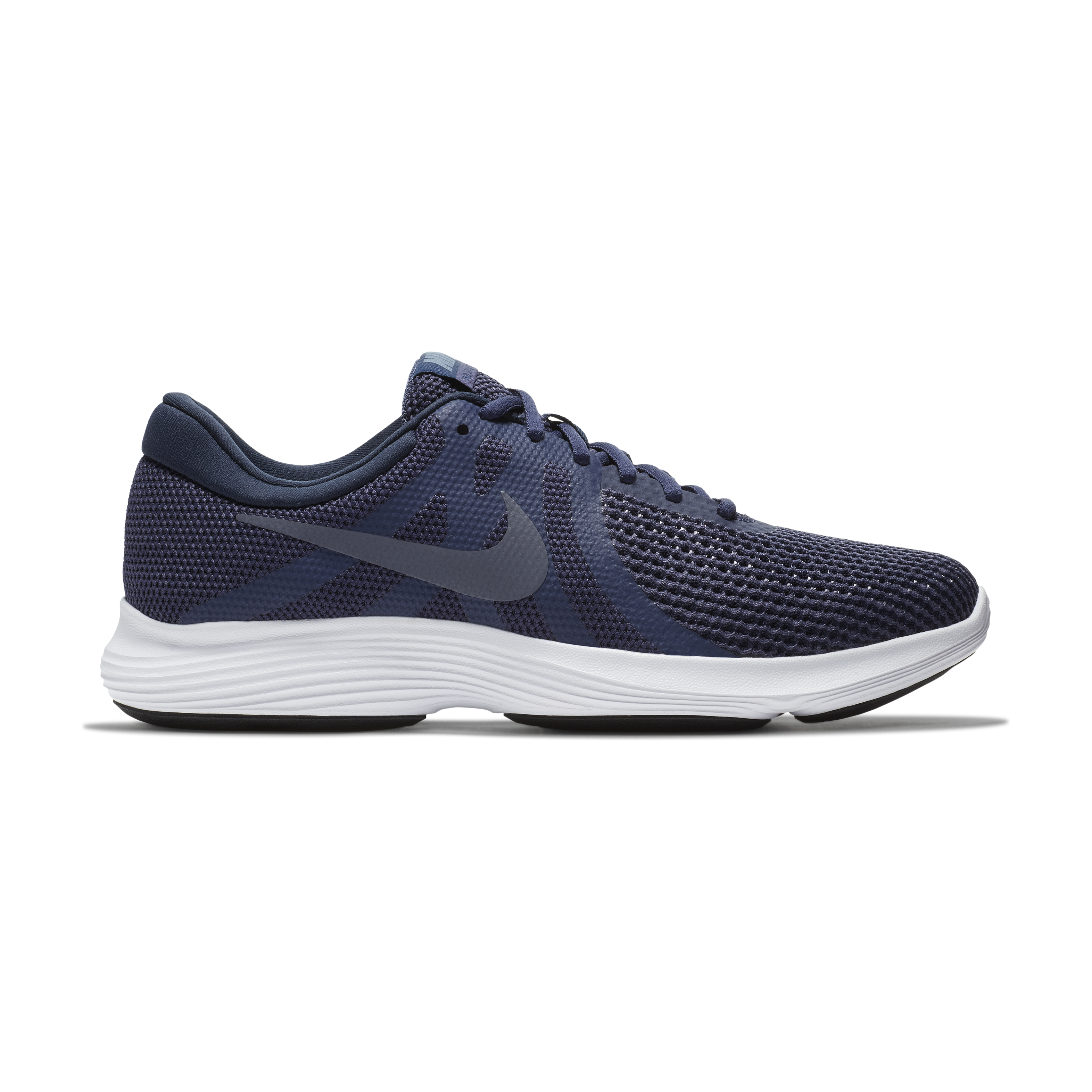 Nike Revolution 4 Mens 908988-500 Neutral Indigo Carbon Running Shoes Size 8