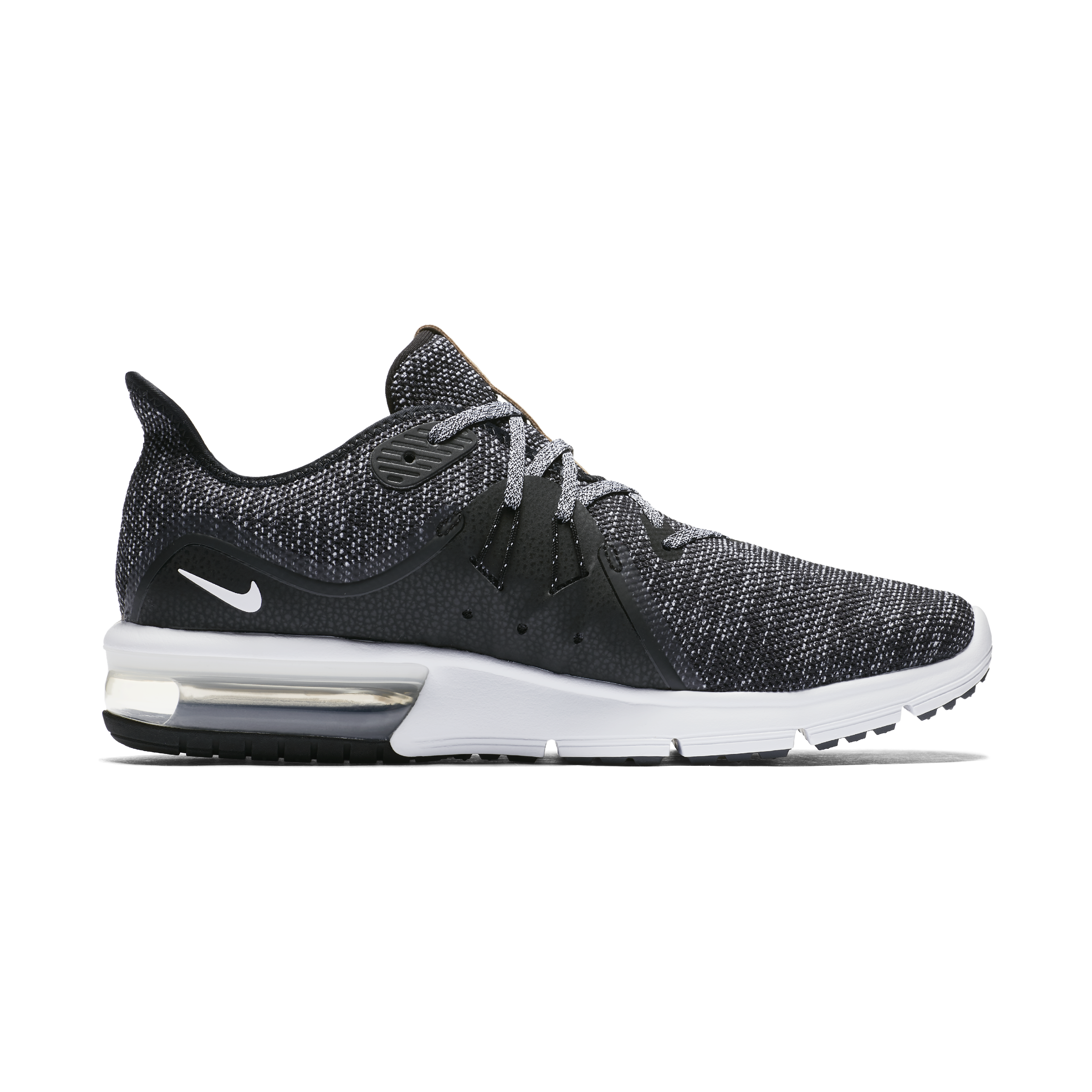 Wholesale price Nike Air Max Sequent Running Shoes Black