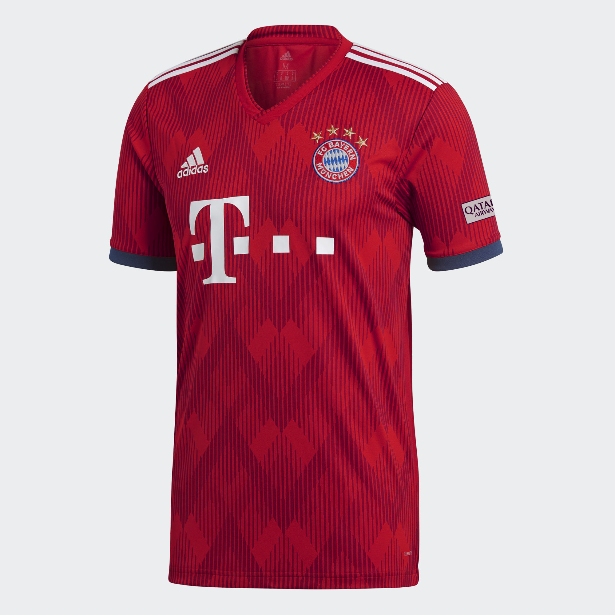 84be44aa1297d ADIDAS FC BAYERN MUNICH HOME REPLICA JERSEY MENS - Poobie Naidoos