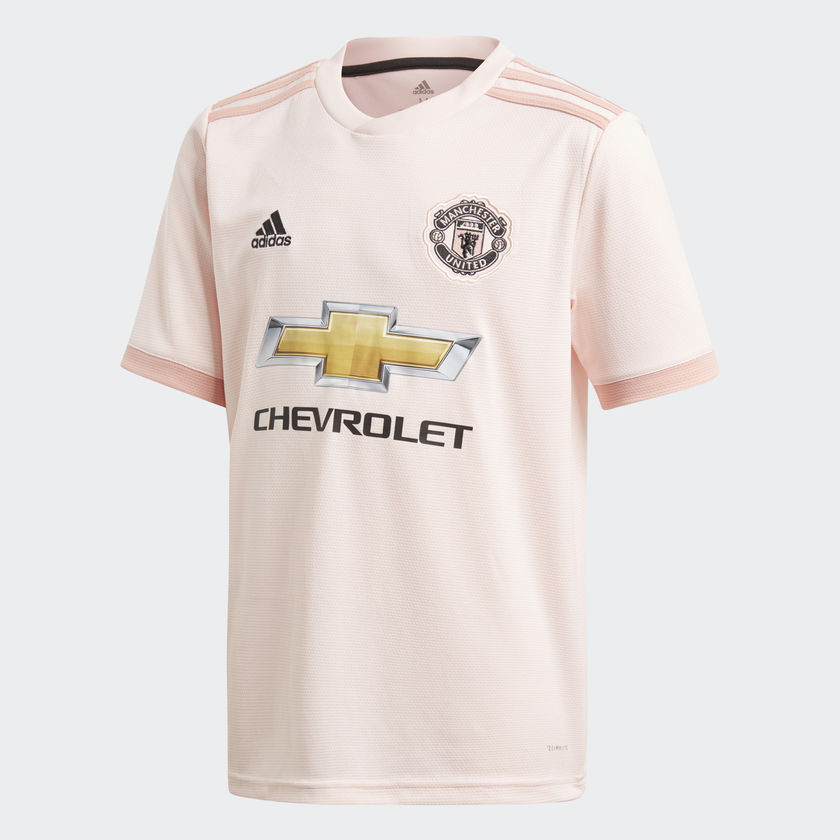 127035175 ADIDAS MANCHESTER UNITED FC AWAY JERSEY JUNIOR - Poobie Naidoos
